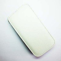 Кожаный чехол Armor Case White для Lenovo IdeaPhone S650