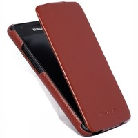 Кожаный чехол HOCO Leather Case Brown для Samsung i9100 Galaxy S2
