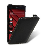 Кожаный чехол Melkco Leather Case Black LC для HTC J/Butterfly