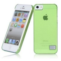 Пластиковый чехол HOCO Colorful Protective Case Green для Apple iPhone 5/5S/5SE