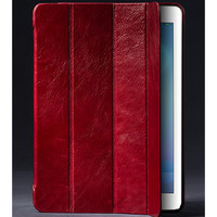 Кожаный чехол Borofone General Leather case Wine Red для Apple iPad Air