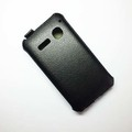 Чехол книга Armor Case Black для Alcatel One Touch SPOP 4030D(#3)
