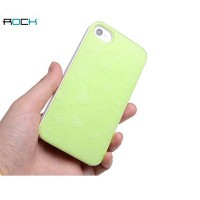 Пластиковый чехол ROCK Pure Dew Series Green для Apple iPhone 4/4S