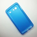 Силиконовый чехол Becolor Light Blue Mat для Samsung i9070 Galaxy S Advance(#2)