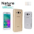 Силиконовый чехол Nillkin Nature TPU Case Grey для Samsung Galaxy A3(#4)