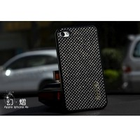 Пластиковый чехол Nillkin Phantom Glistening Series Black для Apple iPhone 4/4S