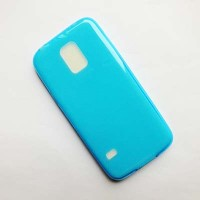 Силиконовый чехол Becolor Light Blue Mat для Samsung G800F Galaxy S5 mini