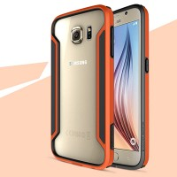 Пластиковый бампер Nillkin Armor-Border series Orange для Samsung G920F Galaxy S6