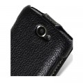 Кожаный чехол книга Melkco Leather Case Black LC для Samsung i8150 Galaxy W(#4)
