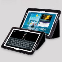 Кожаный чехол Yoobao Executive Leather Case Black для Samsung Galaxy Tab 2 10.1 P5100