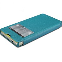 Полиуретановый чехол Nillkin Sparkle Leather Case Ocean для Sony Xperia Z1 mini/Compact
