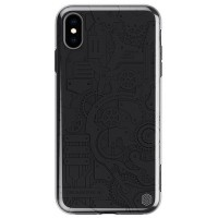 Чехол NILLKIN Machinery Case Черный для Apple iPhone XS Max
