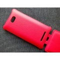 Кожаный чехол Armor Case Red для HTC Windows Phone 8X(#3)