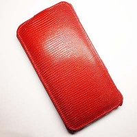 Кожаный чехол Abilita Leather Case Red Snake для Nokia Lumia 1320