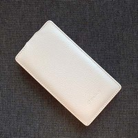 Кожаный чехол Melkco Leather Case White LC для Nokia Lumia 720