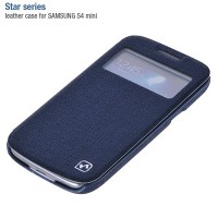 Полиуретановый чехол HOCO Star Series Case Dark Blue для Samsung i9190 Galaxy S4 mini