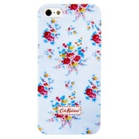 Пластиковый чехол Cath Kidston Flowers Light Blue для Apple iPhone 5/5S/5SE