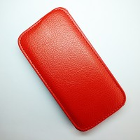 Кожаный чехол Armor Case Red для Lenovo IdeaPhone S650