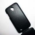 Кожаный чехол Armor Case Black для Lenovo IdeaPhone S750(#3)