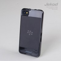 Силиконовый bumer Jekod TPU Case Grey для BlackBerry Z10