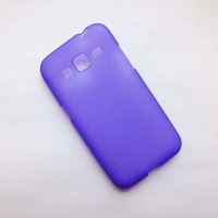 Силиконовый чехол Becolor Purple Mat для Samsung G360 Galaxy Core Prime
