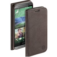 Кожаный чехол Deppa Wallet Cover Brown для HTC One M7