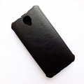 Кожаный чехол Armor Case Black для Alcatel One Touch Idol 2 6037B(#3)