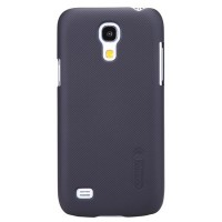 Пластиковый чехол с пленкой Nillkin Super Frosted Shield Black для Samsung i9190 Galaxy S4 mini