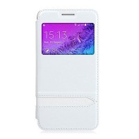 Полиуретановый чехол Usams Merry Series White для Samsung G800F Galaxy S5 mini
