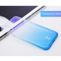 Пластиковый чехол Baseus Glaze Case Blue для Apple iPhone X/ iPhone XS