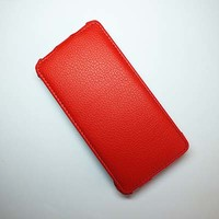 Чехол книга Armor Case Red для Alcatel One Touch Idol 6030X
