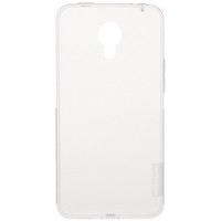 Силиконовый чехол Nillkin Nature TPU Case White для Meizu M1 Note