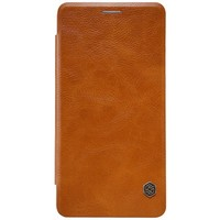 Кожаный чехол Nillkin Qin Leather Case Brown для Xiaomi Mi5S Plus