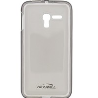 Силиконовый чехол KissWill TPU Case Black для Alcatel One Touch Pixi 3(4.5) 5017X