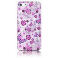 Пластиковый чехол Baseus Romance Case Flowers для Apple iPhone 5/5S/5SE(#2)