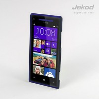 Пластиковый чехол Jekod Cool Case Black для HTC Windows Phone 8X