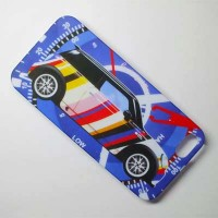 Пластиковый чехол Hardshell Case Paul Smith Blue для Apple iPhone 5/5S/5SE