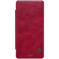 Кожаный чехол Nillkin Qin Leather Case Red для Sony Xperia X