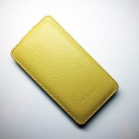 Кожаный чехол Melkco Leather Case Yellow LC для Nokia Lumia 625
