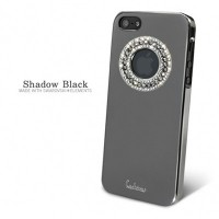 Пластиковый чехол Dreamplus Eileen Circle Series Black для Apple iPhone 5/5S/5SE