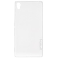 Силиконовый чехол Nillkin Nature TPU Case White для Sony Xperia Z4