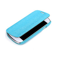 Чехол книга Rock Big City Light Blue для Samsung S7562 Galaxy S Duos