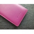 Кожаный чехол Melkco Leather Case Purple LC для Sony Xperia Z L36h(#4)