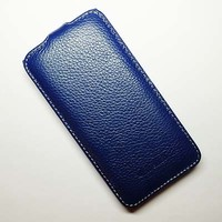 Кожаный чехол Melkco Leather Case Dark Blue LC для HTC Desire 300