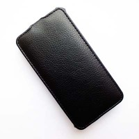 Кожаный чехол Armor Case Black для Alcatel One Touch Idol 2 6037B