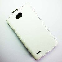Чехол книга Armor Case White для LG L80 D380 Dual Sim
