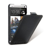 Кожаный чехол Melkco Leather Case Black LC для HTC One Dual Sim