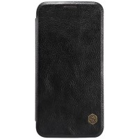 Кожаный чехол Nillkin Qin Leather Case Black для Samsung G920F Galaxy S6