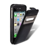Кожаный чехол Melkco Leather Case ID Type Vintage Black для Apple iPhone 4/4S