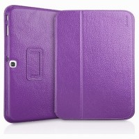 Кожаный чехол Yoobao Executive Leather Case Purple для Samsung Galaxy Tab 3 10.1 P5200